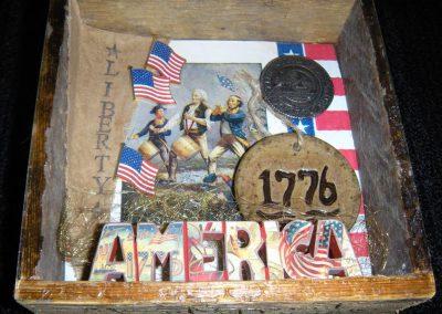 "America 1776 - $35.00 6"" x 7"""