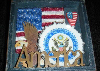 "America 3 - $35.00 6"" x 7"""