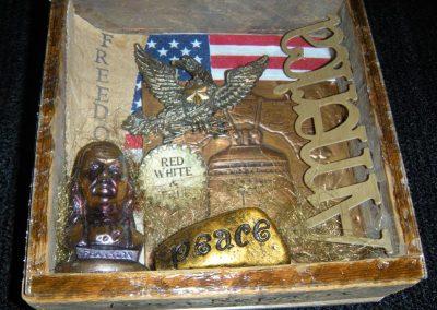 "America Ben Franklin - $35.00 6"" x 7"""