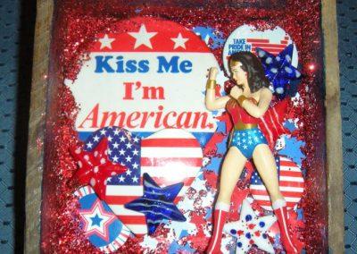 "America Women - $35.00 6"" x 7"""
