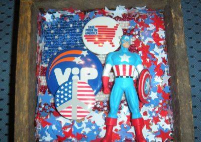 """Captain America - $35.00 6"""" x 7"""""""