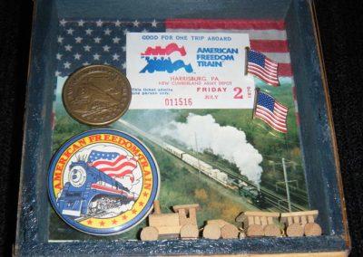 "Freedom Train - $35.00 6"" x 7"""