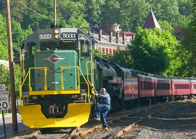 Trains in Jim Thorpe
