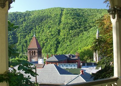 Jim Thorpe rooftops