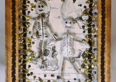 """Bones A - $32.00 6"""" x 8"""""""