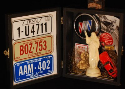 Car Shrine - $65.00 in cigar box